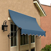 Awntech CH21-10DB, Window/Entry Awning Dusty Blue 10-3/8'W x 1'D x 2'H