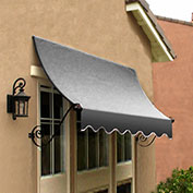 Awntech CH21-10G, Window/Entry Awning Gray 10-3/8'W x 1'D x 2'H
