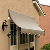 Awntech CH22-10L, Window/Entry Awning Linen 10-3/8'W x 2'D x 2-9/16'H