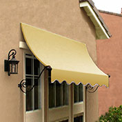 Awntech CH22-10LY, Window/Entry Awning Light Yellow 10-3/8'W x 2'D x 2-9/16'H