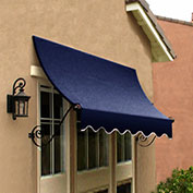 Awntech CH22-10N, Window/Entry Awning Navy 10-3/8'W x 2'D x 2-9/16'H