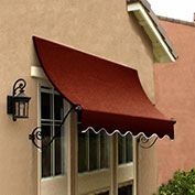 Awntech CH22-10TER, Window/Entry Awning Terra Cotta 10-3/8'W x 2'D x 2-9/16'H
