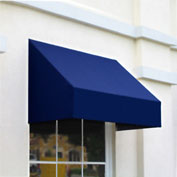 "Awntech CN43-5N, Window/Entry Awning 5' 4-1/2""W x 3'D x 4' 8""H Navy"