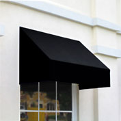 "Awntech CN44-5K, Window/Entry Awning 5' 4 -1/2""W x 4'D x 4' 8""H Black"