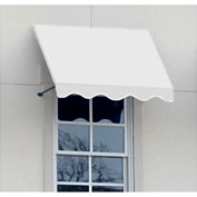 "Awntech CR44-8W, Window/Entry Awning 8' 4 -1/2""W x 4'D x 4' 8""H Off White"