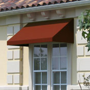 "Awntech EN1836-8TER, Window/Entry Awning 8' 4-1/2""W x 3'D x 1' 6""H Terra Cotta"