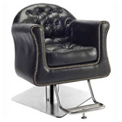 Presidential Styling Chair - Vinyl - Black