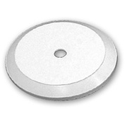 "Azar Displays 610105-WHT, Flat Revolving Display Base, 0.75""H x 5""Dia, WH, 10-Pack"