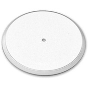 "Azar Displays 610112-WHT, Flat Revolving Display Base, 0.75""H x 12""Dia, WH, 10-Pack"