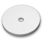 "Azar Displays 610144-WHT, Flat Revolving Display Base, 0.5""H x 4""Dia, WH, 10-Pack"