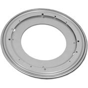 "Azar Displays P-12CLS, Round RB, 12""Dia, Silver, 10-Pack"