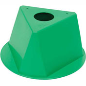 Inventory Cone Green 3-Sided