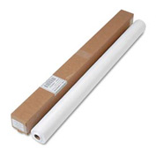 Linen-Soft Non-Woven Polyester Banquet Roll, Cut-to-Fit 40 in x 50 ft., White