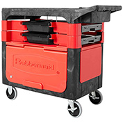 Rubbermaid Trades Tool Carts, Rubbermaid Trades Plastic Tool Storage Cart
