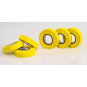 "Bel-Art Write-On™ Label Tape 134810050, 15 Yards x 1/2""W, 1"" Core, Yellow, 6/PK - Pkg Qty 4"