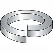 "Split Lock Washer - 7/16"" - Steel - Zinc - Pkg of 500 - Brighton-Best 349009"