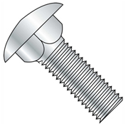 "Carriage Bolt - 3/8-16 x 1-1/4"" - Round Head - Steel - Zinc CR+3 - Grade 5 - UNC - Pkg of 125"