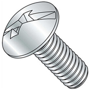 "1/2-13 x 6"" Machine Screw - Truss Head - Phillips/Slotted - Steel - Zinc CR+3 - FT - UNC - Pkg of 50"