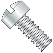 "8-32 x 5/8"" Machine Screw - Fillister Head - Slotted - Steel - Zinc CR+3 - FT - UNC - Pkg of 100"