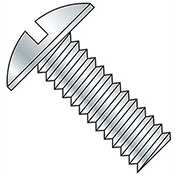 "3/8-16 x 2"" Machine Screw - Truss Head - Slotted - Steel - Zinc CR+3 - FT - Pkg of 100 - BBI 584855"
