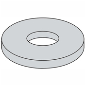 "Fender Washer - 1/4"" x 1-1/4"" - Steel - Zinc CR+3 - Pkg of 100 - BBI P36145"
