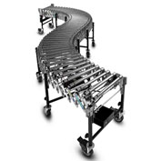 "BestFlex™ Powered Roller Conveyor BFP1524605 - 20'L to 60'L - 24"" BFW Steel Rollers 100 Lb./ft"