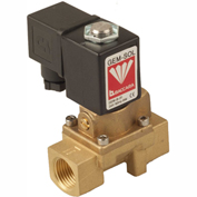 "Baccara 1254730634, 1/2"" NPT, 2 Way, Normally Closed, Pilot Operated, 24V AC, Din Connector"
