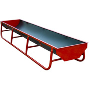 """Behlen Country Standard Bunk With Square Ends And 5 2"""" Straps 130""""L x 34""""W x 20""""H, Red"""