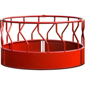 "Behlen Country Super Duty Bale Feeder With S-Bar 96""L x 96""W x 51-1/2""H, Red"
