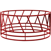 "Behlen Country 2 Piece Heavy Duty Bale Feeder W/ Eight Diagonals Per Section 96""Lx96""Wx46""H, Red"