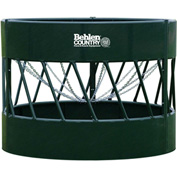 "Behlen Country HAYSMART Round Bale Feeder For Cattle 96""L x 96""W x 72""H, Green"