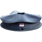 """Behlen Country 4 Block Mineral Feeder Self-Closing Rubber Cover 48""""L x 48""""W x 7""""H, 4 Compartments"""
