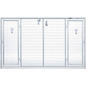"Behlen Country Magnum Kennels™ Heavy Duty Welded Double Door Panel 120""L x 120""W x 72""H"