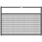 "Behlen Country Wire-Filled 20 Gauge Steel Gate 44"" Usable Length, 48""L x 1-5/8""W x 50""H, Gray"