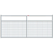 "Behlen Country Wire-Filled 20 Gauge Steel Gate 92"" Usable Length, 96""L x 1-5/8""W x 50""H, Galvanized"