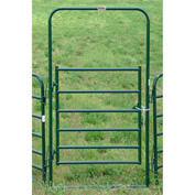 """Behlen Country Utility Arch Gate 44"""" Usable Length, 48""""L x 1-5/8""""W x 96""""H, Green"""