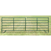 """Behlen Country Pin Connection Corral Panel 188"""" Usable Length, 192""""L x 1-5/8""""W x 64""""H, Green"""