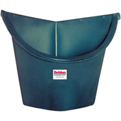 """Behlen Country Utility Poly Corner Stall Feeder With Bottom Drain, 30"""" From Corner"""