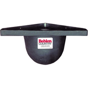 "Behlen Country Poly Horse Grain Stall Feeder With Round Edges, 10""D From Wall"