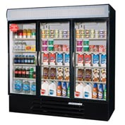 Beverage Air Merchandiser Refrigerator - Three Glass Doors