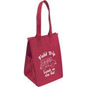 Custom Bag-Therm-O-Snack™ Insulated Tote, 8W X 7 X 12H, Screen Print