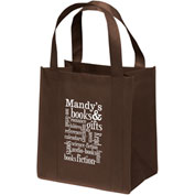 Custom Bag-Little Thunder™ Non-Woven Tote, 12W X 8 X 13H, Screen Print
