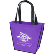 Personalized Bag-Carnival™ Tote, 12TW X 8BW X 10H X 4BG, Screen Print