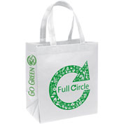 Personalized Bag-Economy Non-Woven Tote, 13W X 8 X 15H, Screen Print