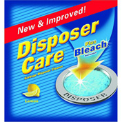 Summit Brands DP06N-PB 4-Pack Disposer Care Garbage Disposal Cleaner