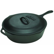 Lodge Mfg Co L8CF3 Lodge Logic Chicken Fryer Skillet with Iron Cover