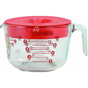 World Kitchen 1055161 Pyrex Measuring Cup With Lid