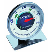Taylor Precision 5996N Professional Refrigerator And Freezer Kitchen Thermometer
