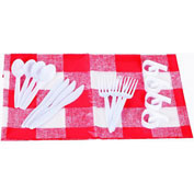 Onward Manufacturing 14755 GrillPro Tablecloth And Clips