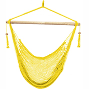 Bliss Island Rope Chair, Yellow